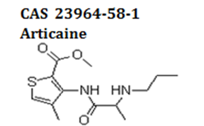 Articaine powder cas 23964-58-1
