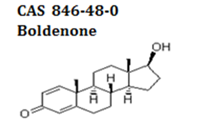 Boldenone powder cas  846-48-0