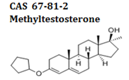Methyltestosterone powder cas 67-81-2