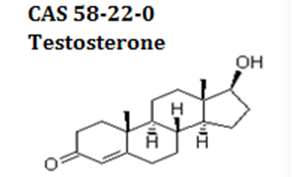 Testosterone powder cas 58-22-0