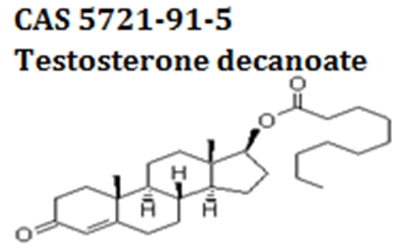 Testosterone decanoate powder cas 5721-91-5