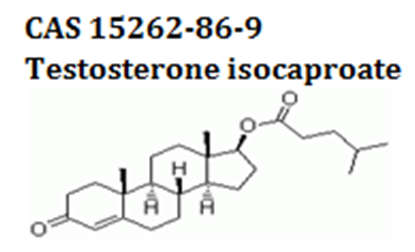 Testosterone isocaproate powder cas 15262-86-9