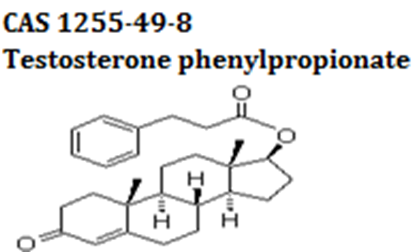Testosterone phenylpropionate powder cas 1255-49-8